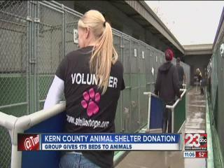 Kern County Animal Shelter Donation