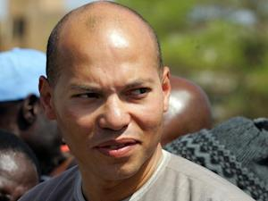 A photo taken on March 8, 2008 shows Karim Wade, the …