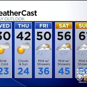 KDKA-TV Evening Forecast (12/17)