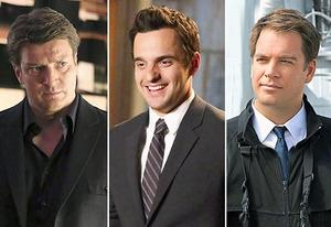Nathan Fillion, Jake Johnson, Michael Weatherly    | Photo Credits: Richard Cartwright/ABC; Adam Taylor/FOX; Sonja Flemming/CBS