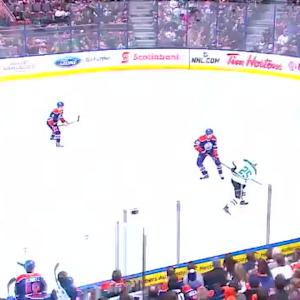 Richard Bachman Save on Brett Ritchie (01:04/1st)
