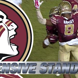 FSU's Defensive Stand to Beat Notre Dame