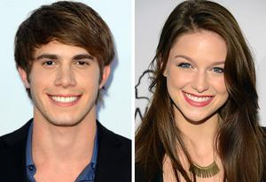 Blake Jenner, Melissa Benoist | Photo Credits: Frazer Harrison/Getty Images, Michael Kovac/Getty Images