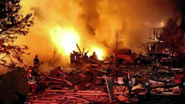 Deadly blast devastates Indianapolis neighborhood