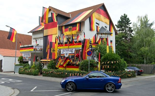A House Is Wrapped In German&nbsp;&hellip;