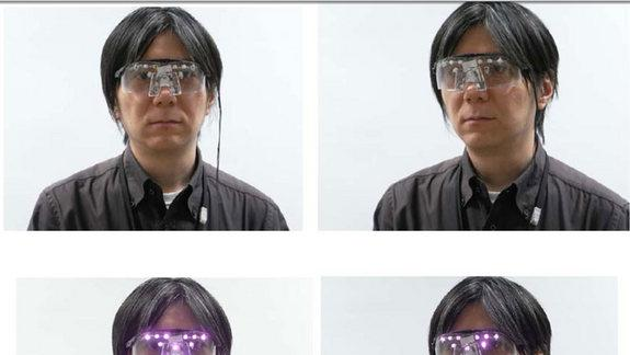 Privacy Visor Blocks Facial Recognition Tech