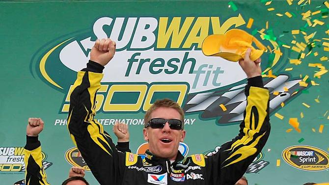 Driver reports following the Subway Fresh Fit 500