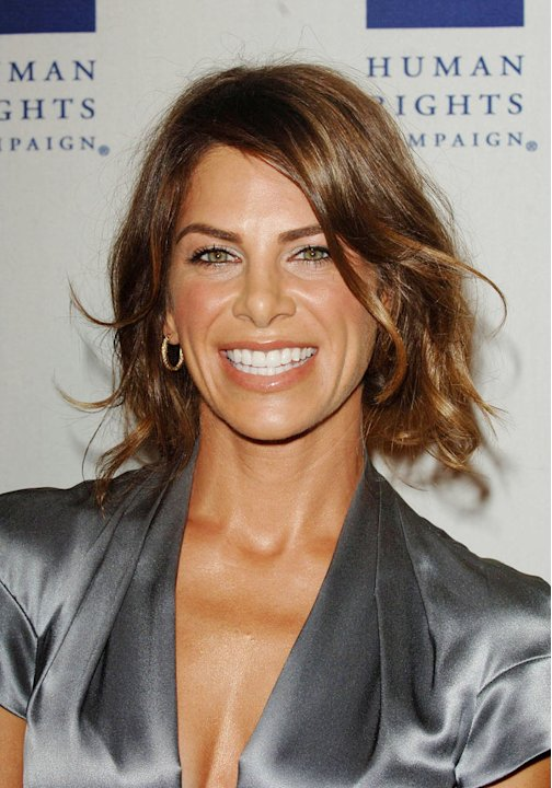 Jillian Michaels arrives at the HRC Los Angeles Dinner And Awards Gala at Hyatt Regency Century Plaza on March 13, 2010 in Century City, California.