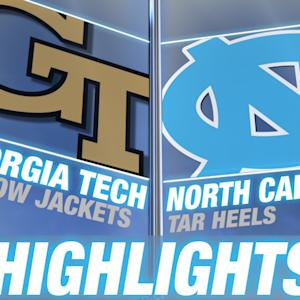 Georgia Tech vs North Carolina | 2015 ACC Women's Tournament Highlights