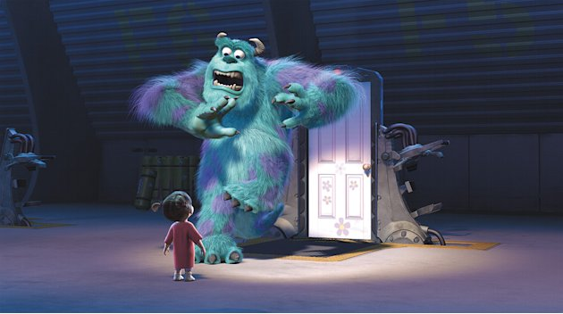 Monsters Inc. Production Stills Walt Disney Pixar 2001