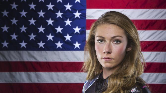 Olympic alpine skier Mikaela Shiffrin poses for a portrait during the 2013 U.S. Olympic Team Media Summit in Park City, Utah