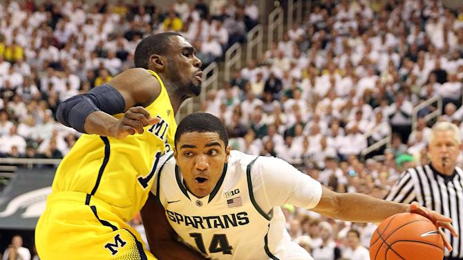 NCAA Basketball: Michigan at Michigan State