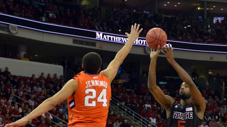 NCAA Basketball: Clemson at North Carolina State