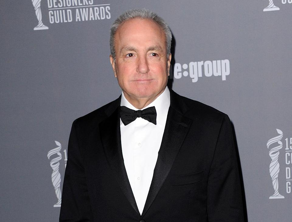 "FILE - This Feb. 19, 2013 file photo shows producer Lorne Michaels at the 15th Annual Costume Designers Guild Awards at The Beverly Hilton Hotel in Beverly Hills. Michaels is the longtime producer of ""Saturday Night Live."" (Photo by Jordan Strauss/Invision/AP, file)"