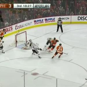 Corey Crawford Save on Sean Couturier (01:33/3rd)