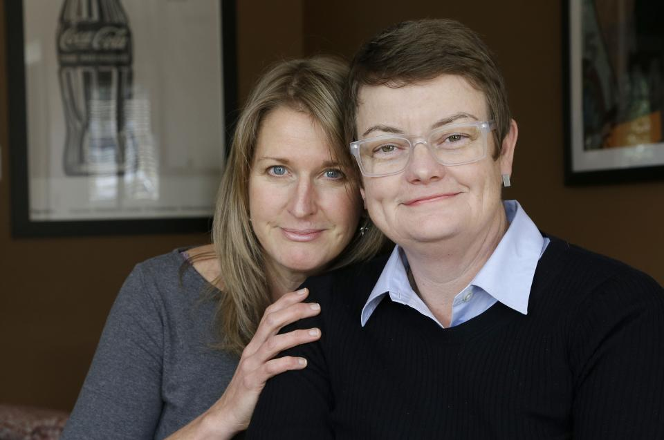 AP interview: Couple reflects on gay marriage