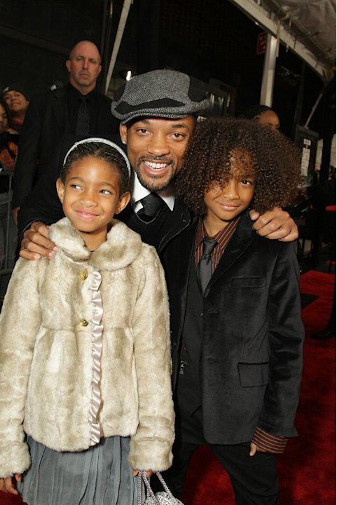 The Day the Earth Stood Still NY Premiere 2008 Willow Smith Will Smith Jaden Smith