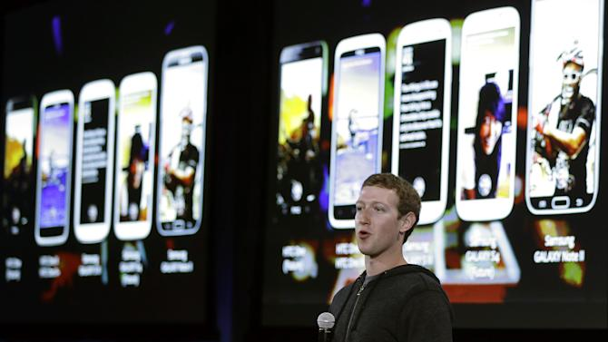 Facebook moves to home screens of Android phones