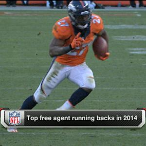 Top free agent running backs