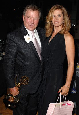 William Shatner and wife Elizabeth Governor's Ball Emmy Awards - 9/18/2005