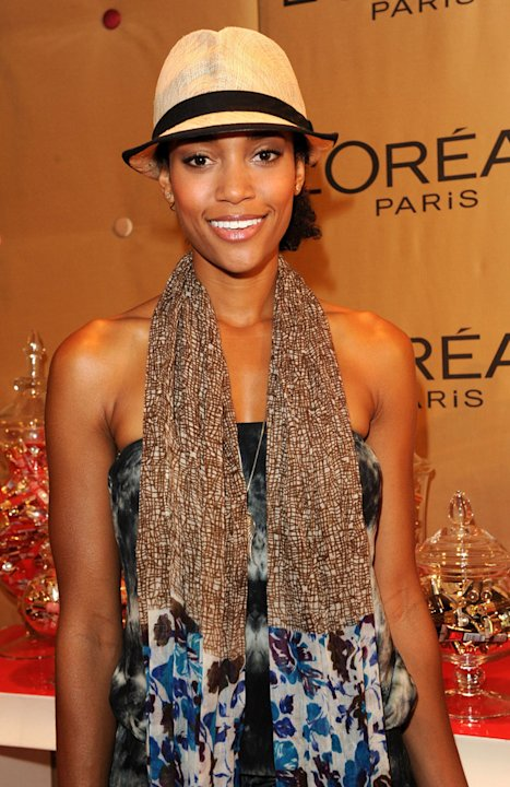 Annie Ilonzeh attends the HBO Luxury Lounge in honor of the 63rd Primetime Emmy Awards held at The Four Seasons Hotel on September 17, 2011 in Beverly Hills, California.