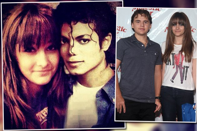 Paris Jackson (re. mit Prince in Gary): Geburtstagsgruß an Papa Michael (Bilder: Instagram, Getty Images)