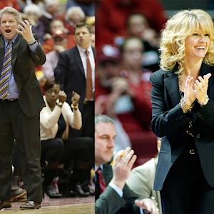 Big 12 Coaches Meetings – Bill & Sherri