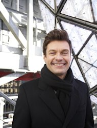 Ryan Seacrest, producer and host of Dick Clark's New Year's Rockin' Eve on ABC, poses for a portrait Friday, Dec. 28, 2012 in New York. As New Year's Eve nears, Seacrest is focused on getting ready for the show, which, with related programming, will blanket ABC from 8 p.m. until past 2 a.m. EST. (Photo by Dan Hallman/Invision/AP Images)