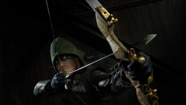Stephen Amell as Arrow -- The CW