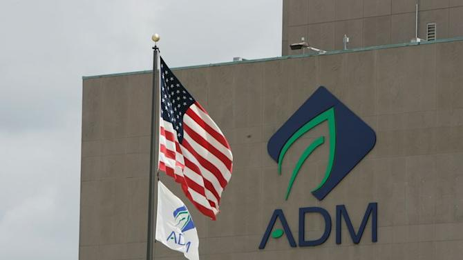 The corporate offices of Archer Daniels Midland (ADM) are seen in this undated handout photo in Decatur, Illinois.
