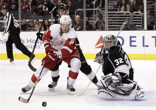 Drew Doughty leads LA Kings' rout of Red Wings