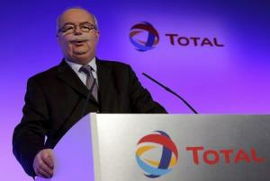 File picture of Total SA CEO Christophe de Margerie …