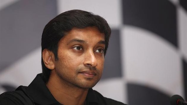 Formula 1 New Dehli Press Conference Karthikeyan
