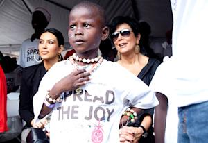 PIC: How Kim Kardashian Gave Back in Haiti