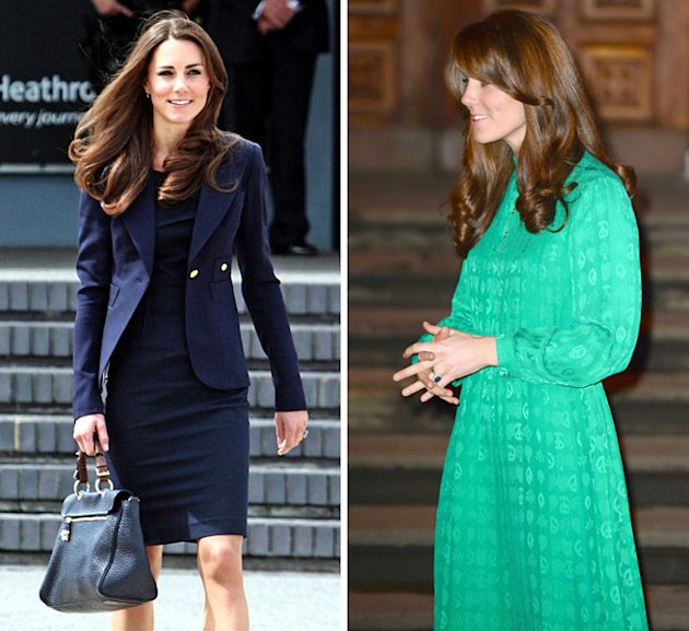 Kate Middleton Mulberry bag dress