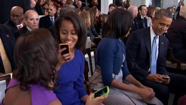 Social media helps capture inauguration key moments