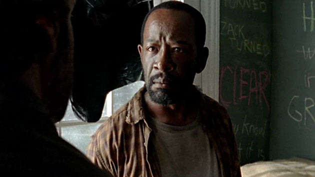 "Lennie James in ""The Walking Dead"" Season 3 episode, ""Clear."""