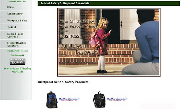 Bulletproof Backpack Sales Surge (ABC News)