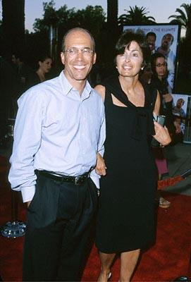 Jeffrey Katzenberg and his wife at the Universal City premiere of Universal's Nutty Professor II: The Klumps