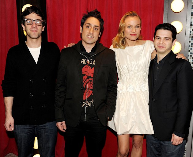 Inglourious Basterds DVD Launch party 2009 BJ Novak Omar Doom Diane Kruger Samm Levine
