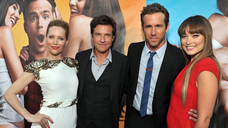 The Change Up LA premiere 2011 Leslie Mann Jason Bateman Ryan Reynolds Olivia Wilde