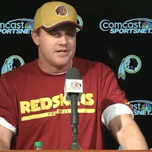 Washington Redskins head coach Jay Gruden: 'RGIII getting more and more reps'