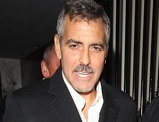 pst George Clooney Charity Party