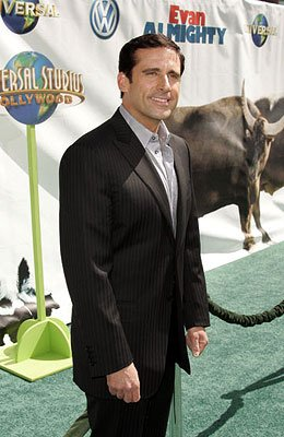 Steve Carell at the world premiere of Universal Pictures' Evan Almighty