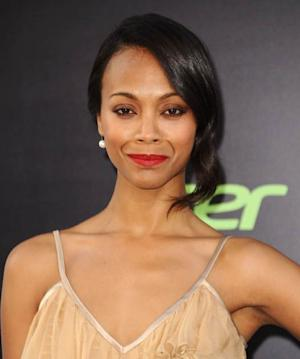 Zoe Saldana attends the premiere of 'Star Trek Into Darkness' at Dolby Theatre on May 14, 2013 in Hollywood -- Getty Images