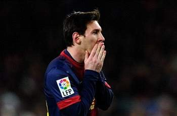 Unwell Messi misses Barcelona training