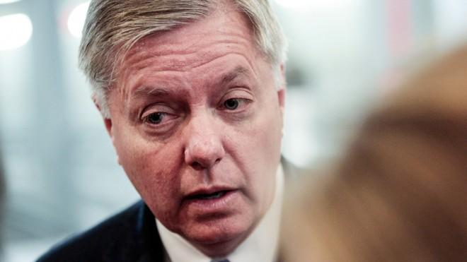 """My biggest fear beyond an Iranian nuclear weapons capability is the chemical weapons in Syria falling in the hands of extremists."" — Sen. Lindsey Graham"