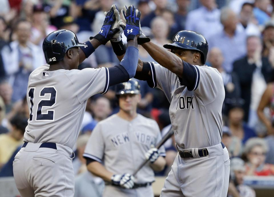 Granderson, Nova lead Yanks to 3-0 win over Padres