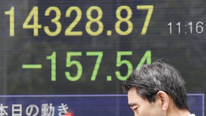 Asia stocks sink on Japan, China recovery doubts