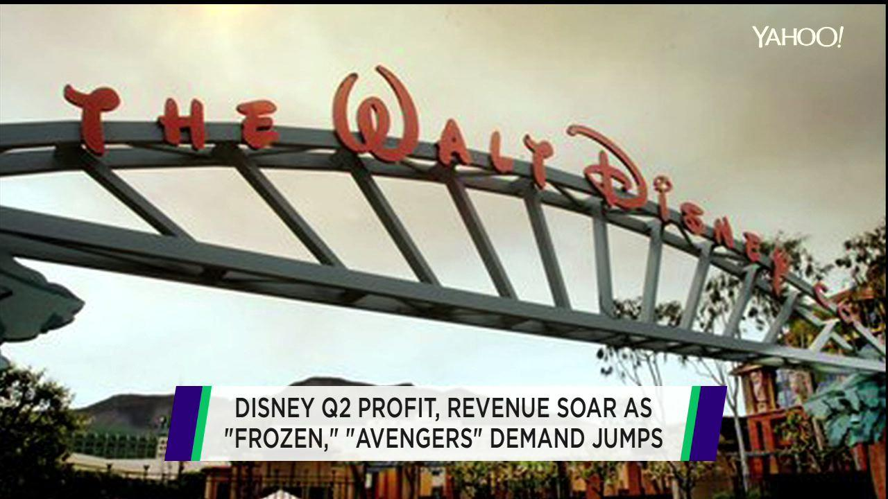 Disney does it again; Sprint subscribers grow; Tesla jumps on bullish target